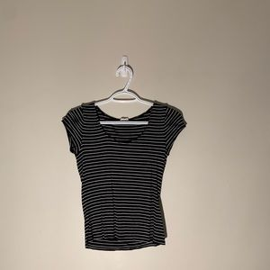 Super cute striped shirt from garage!!